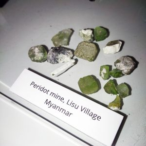 peridot forms in earth's mantle