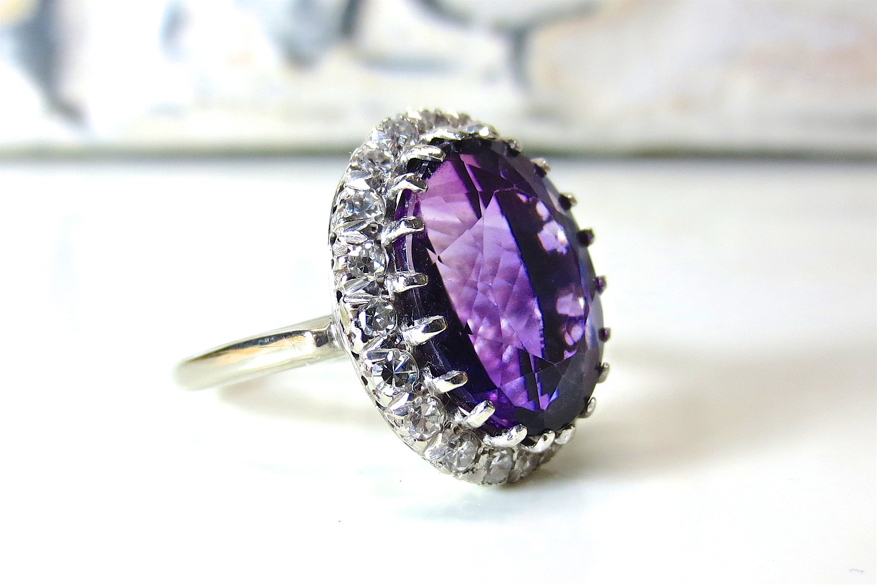 amethyst colour zoning