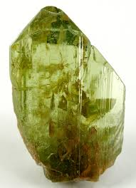 peridot crystal structure
