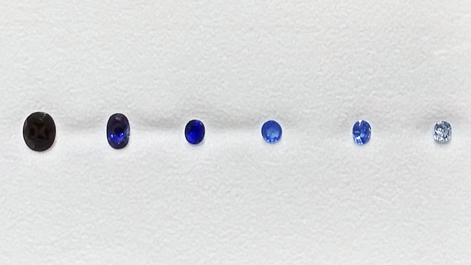 shades of sapphire